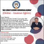 """""""AİLE ŞİRKETLERİNDE KURUMSALLAŞMAK"""" EĞİTİMİ"""