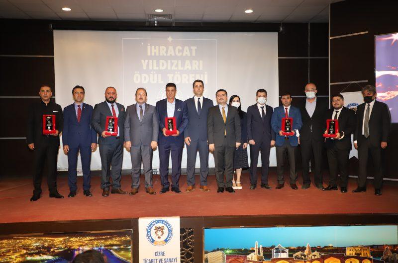 """""""İHRACAT'IN YILDIZLARI"""" ÖDÜL TÖRENİ DÜZENLEDİK"""